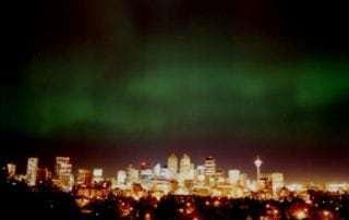 Calgary with Aurora