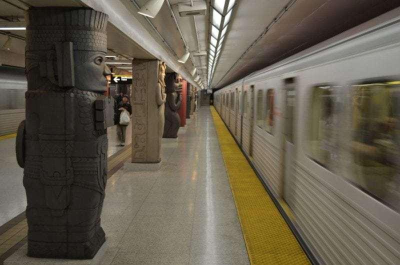 Art in Toronto's subway